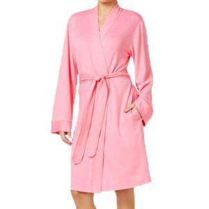 Charter Club Pretty In Pink Cotton Robe